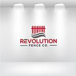 Revolution Fence Co. Logo - Entry #130