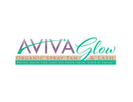 AVIVA Glow - Organic Spray Tan & Lash Logo - Entry #63