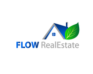 Flow Real Estate Logo - Entry #48