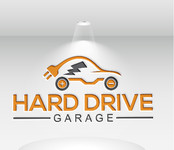 Hard drive garage Logo - Entry #121