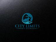 City Limits Vet Clinic Logo - Entry #260