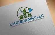 uHate2Paint LLC Logo - Entry #17
