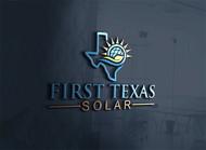 First Texas Solar Logo - Entry #26