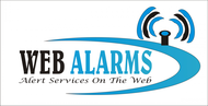 Logo for WebAlarms - Alert services on the web - Entry #34