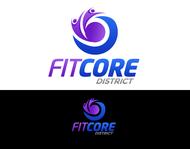 FitCore District Logo - Entry #49