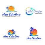 Ana Carolina Fine Art Gallery Logo - Entry #264