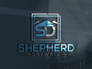 Shepherd Drywall Logo - Entry #209