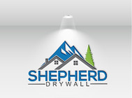 Shepherd Drywall Logo - Entry #330