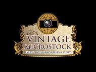 Vintage Microstock Logo - Entry #72