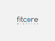 FitCore District Logo - Entry #7