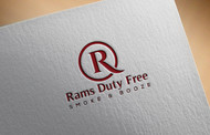 Rams Duty Free + Smoke & Booze Logo - Entry #345
