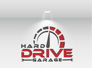 Hard drive garage Logo - Entry #200