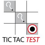 TicTacTest Logo - Entry #47