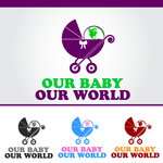Logo for our Baby product store - Our Baby Our World - Entry #9