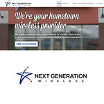 Next Generation Wireless Logo - Entry #198