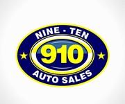 910 Auto Sales Logo - Entry #118