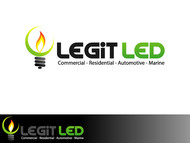 Legit LED or Legit Lighting Logo - Entry #174