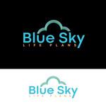 Blue Sky Life Plans Logo - Entry #107