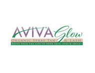 AVIVA Glow - Organic Spray Tan & Lash Logo - Entry #60