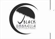Black umbrella coffee & cocktail lounge Logo - Entry #97