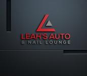 Leah's auto & nail lounge Logo - Entry #82