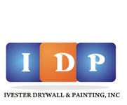IVESTER DRYWALL & PAINTING, INC. Logo - Entry #128