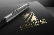 "Open Road Wealth Services, LLC  (The ""LLC"" can be dropped for design purposes.) Logo - Entry #102"