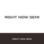 Right Now Semi Logo - Entry #181