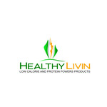 Healthy Livin Logo - Entry #421