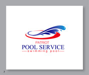 Patriot Pool Service Logo - Entry #205