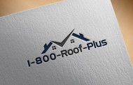 1-800-Roof-Plus Logo - Entry #73