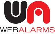 Logo for WebAlarms - Alert services on the web - Entry #30