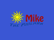 Mike the Poolman  Logo - Entry #123