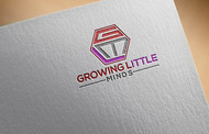Growing Little Minds Early Learning Center or Growing Little Minds Logo - Entry #63