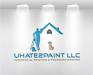uHate2Paint LLC Logo - Entry #144