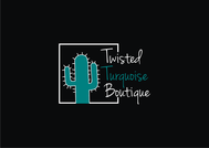 Twisted Turquoise Boutique Logo - Entry #152