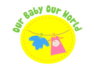 Logo for our Baby product store - Our Baby Our World - Entry #55