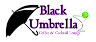 Black umbrella coffee & cocktail lounge Logo - Entry #44