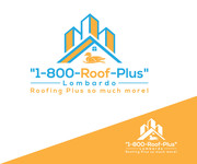 1-800-Roof-Plus Logo - Entry #162