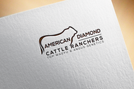 American Diamond Cattle Ranchers Logo - Entry #58