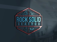 Rock Solid Seafood Logo - Entry #74
