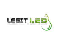 Legit LED or Legit Lighting Logo - Entry #186