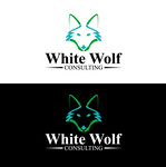 White Wolf Consulting (optional LLC) Logo - Entry #121