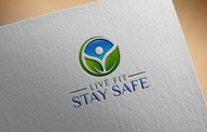 Live Fit Stay Safe Logo - Entry #39
