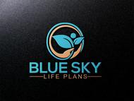 Blue Sky Life Plans Logo - Entry #101