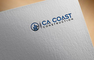 CA Coast Construction Logo - Entry #64