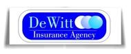 """""""DeWitt Insurance Agency"""" or just """"DeWitt"""" Logo - Entry #118"""