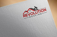 Revolution Roofing Logo - Entry #560