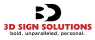 3D Sign Solutions Logo - Entry #169