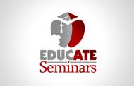EducATE Seminars Logo - Entry #28